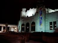 jazz hall at night