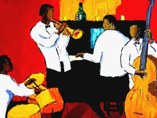 Christmas jazz evening