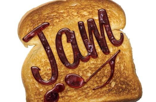 jazz jam toast