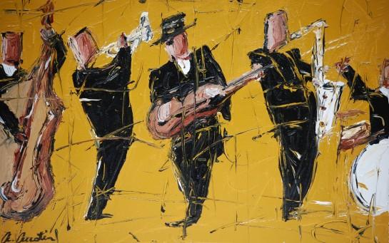 Enjoy-Now jazz print