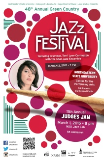 NSU Jazz 48th GCJF poster