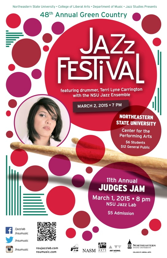 NSU Jazz 48th GCJF poster