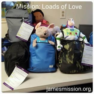 james mission loads of love