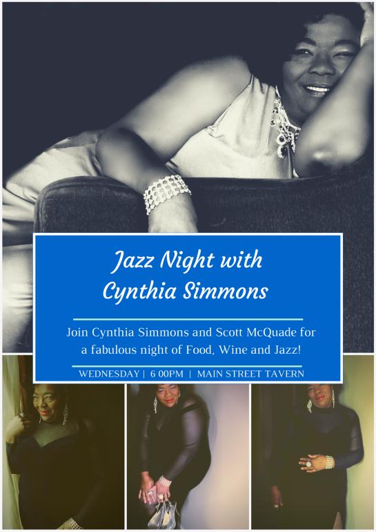 Jazz Night with Cynthia Simmons (2)