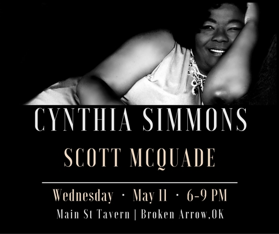 Cynthia Simmons MST May 11th