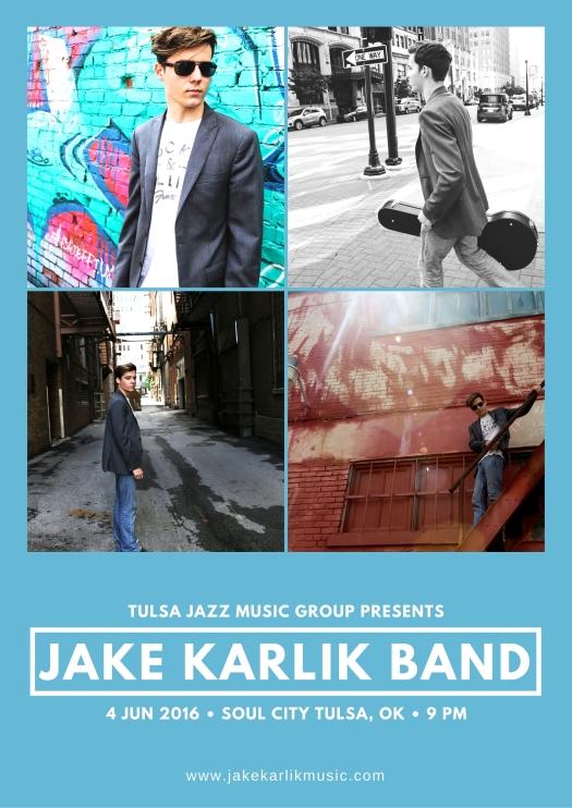 Jake Karlik Band Soul City