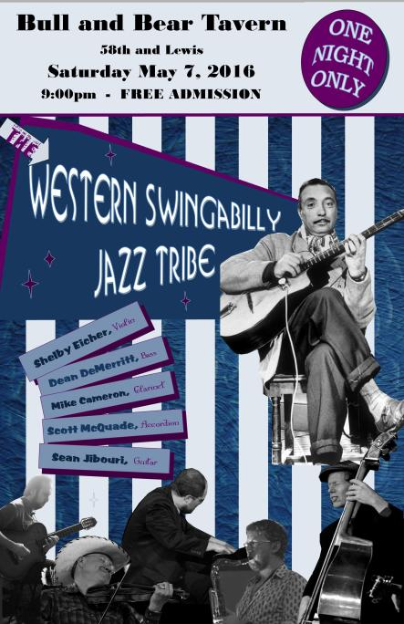 The Western Swingbilly Jazz Tribe May 7