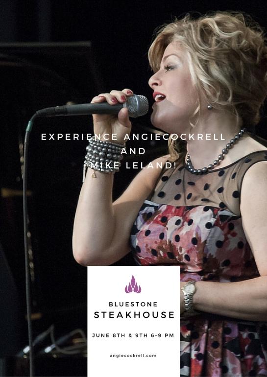 Angie Cockrell Bluestone June 8-9 2016