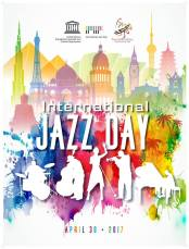 international jazz day 2017 poster