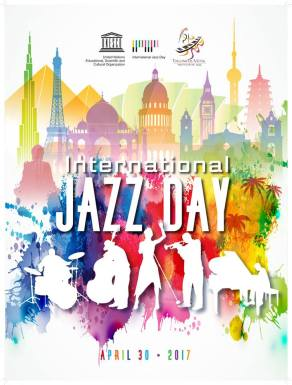 international jazz day 2017 poster