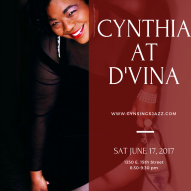 Cynthia at D'vinas 6.17.17