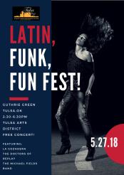 2018 Latin, Funk, Fun Fest! 2