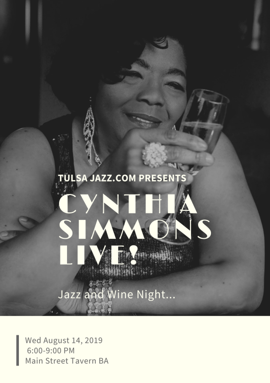 YOUR SOURCE FOR ALL THINGS JAZZ IN TULSA!!