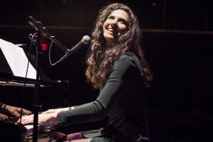 Laila Biali solo at a piano
